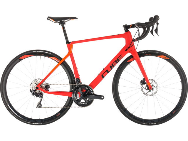 Cube Agree C:62 Race Disc Red'n'Orange